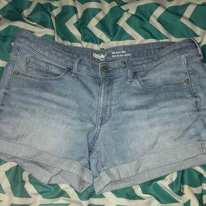 Mossimo Mid Rise Denim Shorts